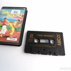 Videojuegos y Consolas: THAI BOXING - AMSTRAD - ZAFIRO 1987 - RARO. Lote 252707245