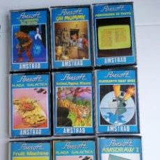 Videojuegos y Consolas: LOTE JUEGOS VIDEOJUEGOS AMSTRAD AMSOFT. Lote 281819798