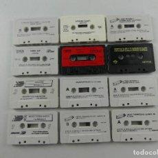 Videojuegos y Consolas: COLECCION LOTE DE 12 CASETES CON JUEGOS DE AMSTRAD. Lote 285384178