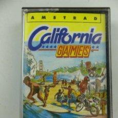 Videojuegos y Consolas: CASETE CON JUEGO CALIFORNIA GAMES DE AMSTRAD. Lote 285384383