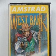 Videojuegos y Consolas: CASETE CON JUEGO WEST BANK PARA AMSTRAD. Lote 285384483