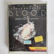 Videojuegos y Consolas: CAPTAIN BLOOD AMSTRAD CASSETTE INFOGRAMES 1988 PROBADO. Lote 286746953