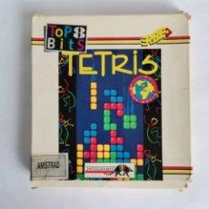 Videojuegos y Consolas: TETRIS ERBE INFOGRAMES AMSTRAD CINTA EN CAJA 1992. Lote 286747428