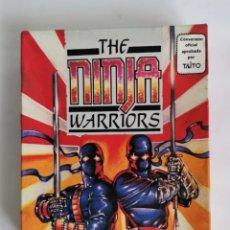 Videojuegos y Consolas: THE NINJA WARRIORS AMSTRAD VIRGIN GAMES TAITO EN CAJA CARTÓN COMPLETO 1989. Lote 286747758