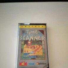Videojuegos y Consolas: JUEGO TIME SCANNER AMSTRAD SEGA CASSETTE 1989 BUEN ESTADO VER FOTOS. Lote 286870238