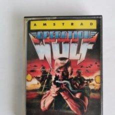 Videojuegos y Consolas: OPERATION WOLF AMSTRAD CINTA ERBE. Lote 287483553