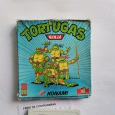 Videojuegos y Consolas: TORTUGAS NINJA AMSTRAD CPC 464 KONAMI 1990. Lote 287679208