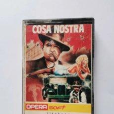 Videojuegos y Consolas: COSA NOSTRA AMSTRAD OPERA SOFT 1986. Lote 287680463