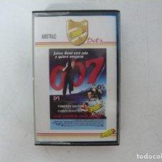 Videojuegos y Consolas: JAMES BOND 007 LICENCIA PARA MATAR / AMSTRAD CPC 464 / RETRO VINTAGE / CASSETTE - CINTA. Lote 288176153