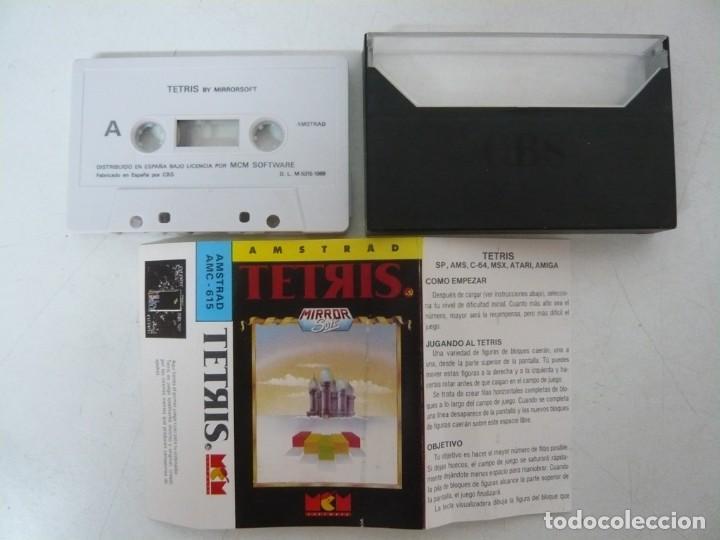 Videojuegos y Consolas: TETRIS / Amstrad CPC 464 / Retro Vintage / Cassette - Cinta - Foto 2 - 288176373