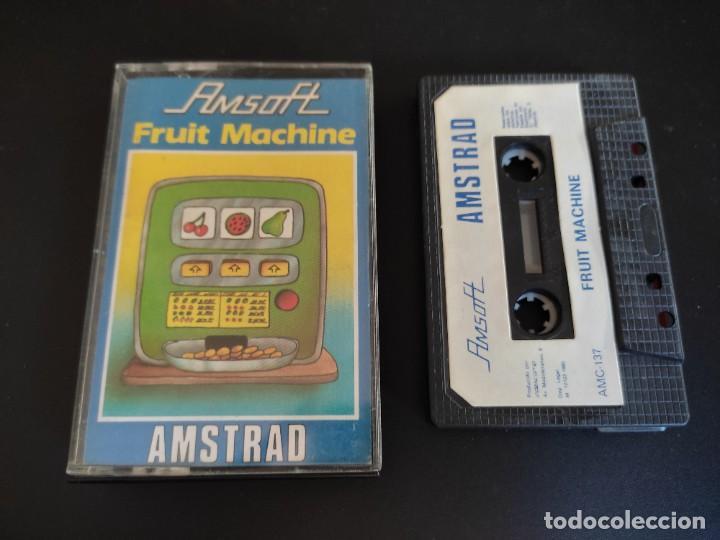 VIDEOJUEGO CASSETTE AMSTRAD AMSOFT FRUIT MACHINE (Juguetes - Videojuegos y Consolas - Amstrad)
