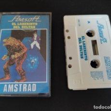 Videojuegos y Consolas: VIDEOJUEGO CASSETTE AMSTRAD AMSOFT EL LABERINTO DEL SULTÁN. Lote 288179793