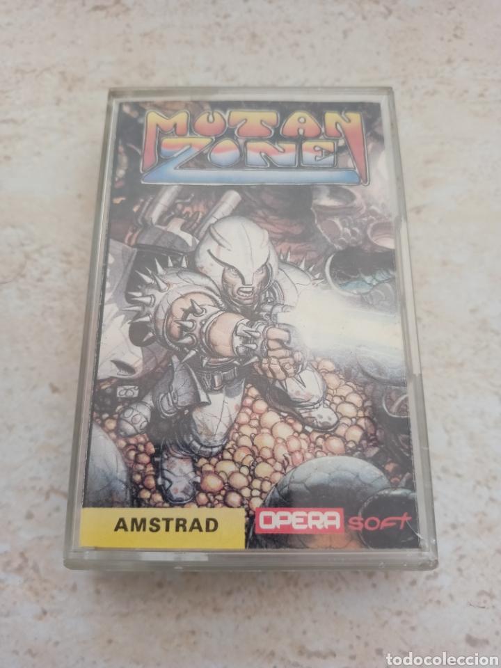 MUTAN ZONE / AMSTRAD (Juguetes - Videojuegos y Consolas - Amstrad)