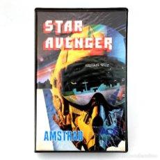 Videojuegos y Consolas: STAR AVENGER ESTUCHE ACE SOFTWARE ESPAÑA SOFT 1986 ACESSA KUMA COMPUTERS KONAMI AMSTRAD CPC CASSETTE. Lote 288565733