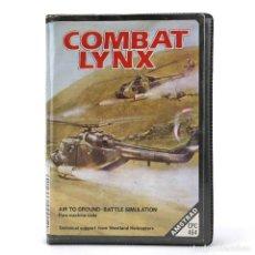 Videojuegos y Consolas: COMBAT LYNX ESTUCHE ERBE DURELL SOFTWARE HELICOPTERO COMBATE GUERRA AMSTRAD CPC 464 472 664 CASSETTE. Lote 288586783