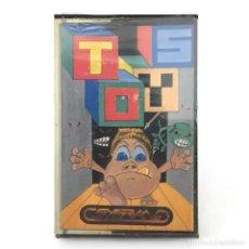 Videojuegos y Consolas: TOYS PRECINTADO SYGRAN PJ SOFT ESPAÑA 1987 HEIPIESS VIDEOAVENTURA RETRO AMSTRAD CPC 464 664 CASSETTE. Lote 288587118