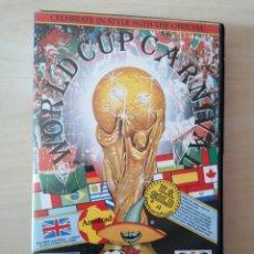Videojuegos y Consolas: WORLD CUP CARNIVAL - AMSTRAD - MÉXICO 1986. Lote 289557323