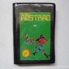 Videojuegos y Consolas: JET - TODO SOBRE EL AMSTRAD / JEWEL CASE / AMSTRAD CPC 464 / RETRO VINTAGE / CASSETTE - CINTA. Lote 290091058