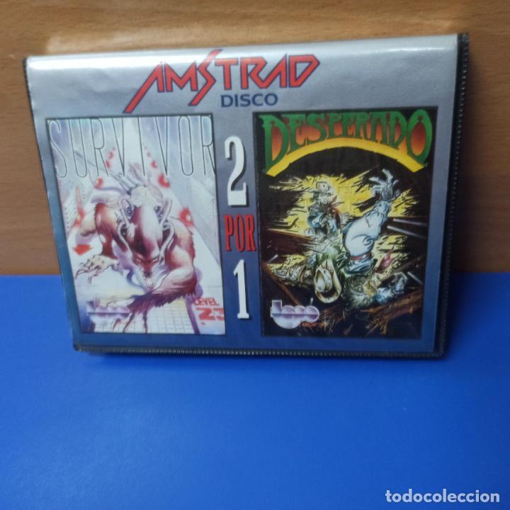 Videojuegos y Consolas: JUEGO DESPERADO Y SURVIVOR PARA AMSTRAD - AMSTRAD DISK - ERBE SOFTWARE - 2 POR 1 - Foto 2 - 290092073