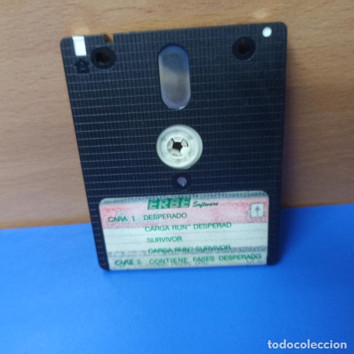 Videojuegos y Consolas: JUEGO DESPERADO Y SURVIVOR PARA AMSTRAD - AMSTRAD DISK - ERBE SOFTWARE - 2 POR 1 - Foto 4 - 290092073
