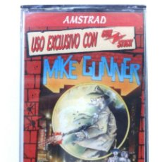 Videojuegos y Consolas: MIKE GUNNER PRECINTADO NUEVO DINAMIC SOFTWARE AMSTRAD CPC 464 472 664 6128. Lote 294172933