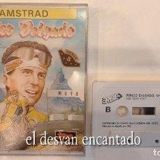 Videojuegos y Consolas: PERICO DELGADO. ANTIGUO JUEGO AMSTRAD. Lote 294807783