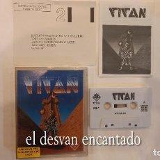 Videojuegos y Consolas: TITAN. ANTIGUO JUEGO AMSTRAD. Lote 294808048