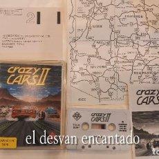 Videojuegos y Consolas: CRAZY CARS II. ANTIGUO JUEGO AMSTRAD. Lote 294808973
