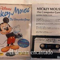 Videojuegos y Consolas: MICKEYMOUSE. ANTIGUO JUEGO AMSTRAD. Lote 294809278