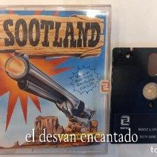 Videojuegos y Consolas: SOOTLAND. ANTIGUO JUEGO AMSTRAD. Lote 294809548