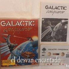 Videojuegos y Consolas: GALACTIC CONQUEROR. ANTIGUO JUEGO AMSTRAD. Lote 294810453