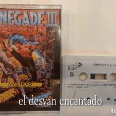 Videojuegos y Consolas: RENEGADE III. ANTIGUO JUEGO AMSTRAD. CAJA CON ROTURAS. Lote 294811568