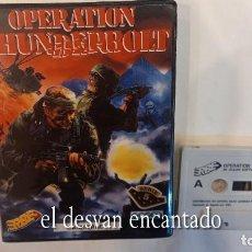 Videojuegos y Consolas: OPERATION THUNDERBOLT ANTIGUO JUEGO AMSTRAD.. Lote 294811823