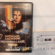Videojuegos y Consolas: MICHAEL JACKSON. MOONWALKER ANTIGUO JUEGO AMSTRAD.. Lote 294812013