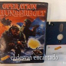 Videojuegos y Consolas: OPERATION THUNDERBOLT. ANTIGUO JUEGO AMSTRAD.. Lote 294815233