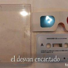 Videojuegos y Consolas: WANDERER 3D. CON GAFAS 3D. FALTA LA CARÁTULA. ANTIGUO JUEGO AMSTRAD.. Lote 294815538