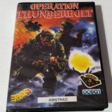 Videojuegos y Consolas: OPERATION THUNDERBOLT AMSTRAD. Lote 294975363