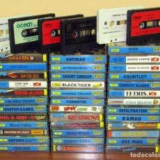 Videojuegos y Consolas: AMSTRAD, GRAN LOTE DE 43 VIDEOJUEGOS - CASSETTE JUEGOS. Lote 295478688