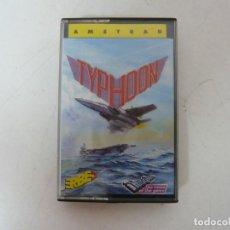 Videojuegos y Consolas: TYPHOON - LOMO AZUL ERBE / AMSTRAD CPC 464 / RETRO VINTAGE / CASSETTE - CINTA. Lote 295816068