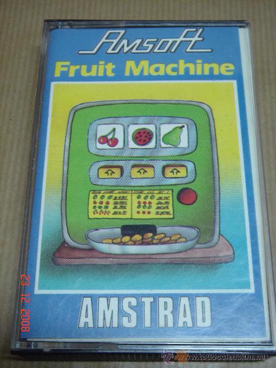 VIDEOJUEGO CASETTE AMSTRAD FRUIT MACHINE AMSOFT (Juguetes - Videojuegos y Consolas - Amstrad)