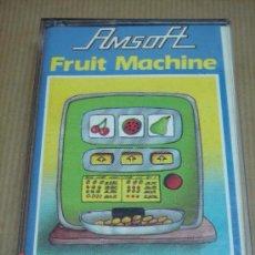 Videojuegos y Consolas: VIDEOJUEGO CASETTE AMSTRAD FRUIT MACHINE AMSOFT. Lote 24469841