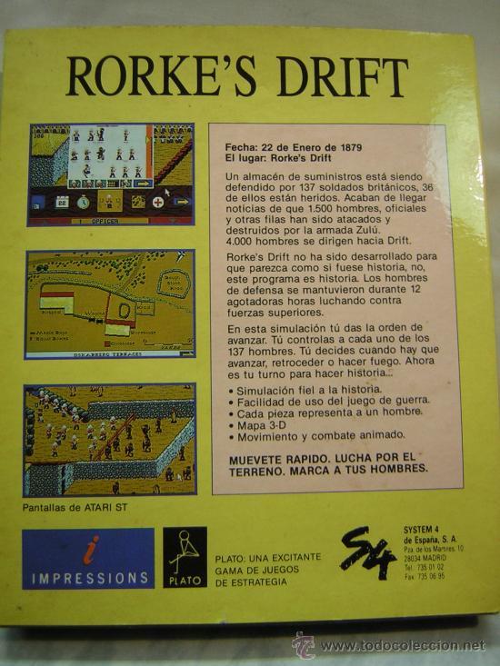 Videojuegos y Consolas: juego atari st rorkes drift - Foto 2 - 26832215