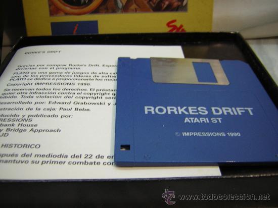 Videojuegos y Consolas: juego atari st rorkes drift - Foto 3 - 26832215