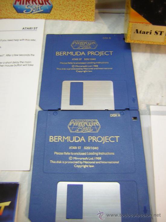 Videojuegos y Consolas: juego atari st bermuda project - Foto 2 - 27125004