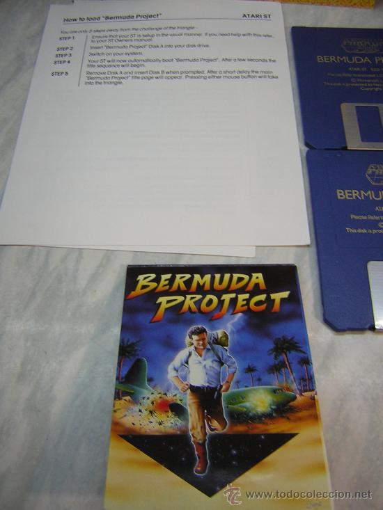 Videojuegos y Consolas: juego atari st bermuda project - Foto 3 - 27125004