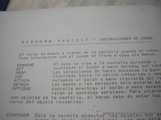 Videojuegos y Consolas: juego atari st bermuda project - Foto 4 - 27125004