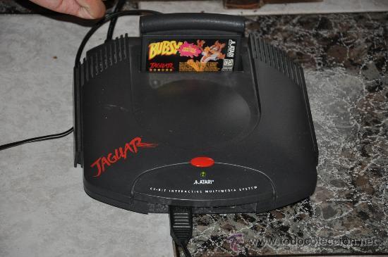 Consola Atari Jaguar Juegos 1 Mando Adapta Comprar Videojuegos Y