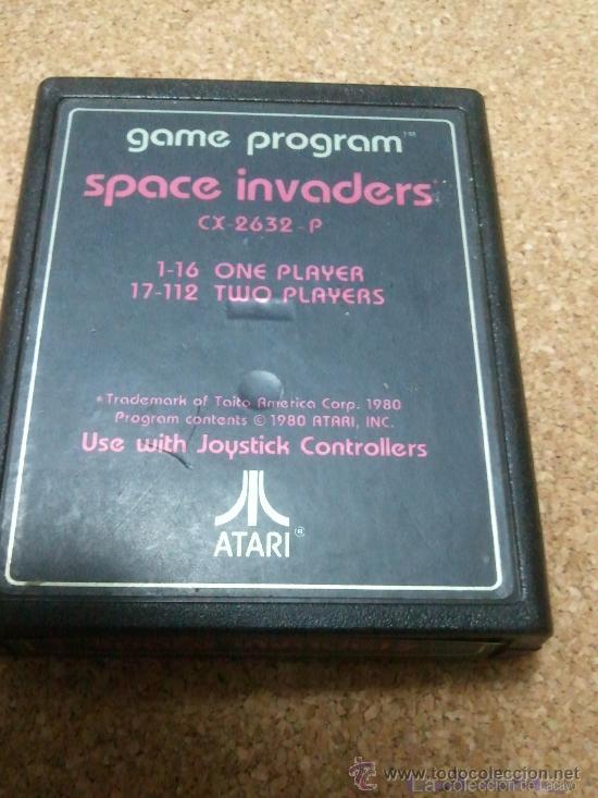 JUEGO SPACE INVADERS ATARI (Juguetes - Videojuegos y Consolas - Atari)