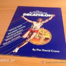 Videojuegos y Consolas: DECATHLON MANUAL DE INSTRUCCIONES LIBRO DE USUARIO PARA JUEGO DE ATARI 2600. Lote 37597374