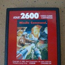 Videojuegos y Consolas: JUEGO MISSILE COMMAND. Lote 38080937